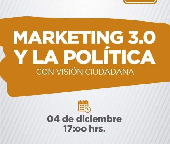 Curso: Marketing 3.0 y la política con visión ciudadana.
